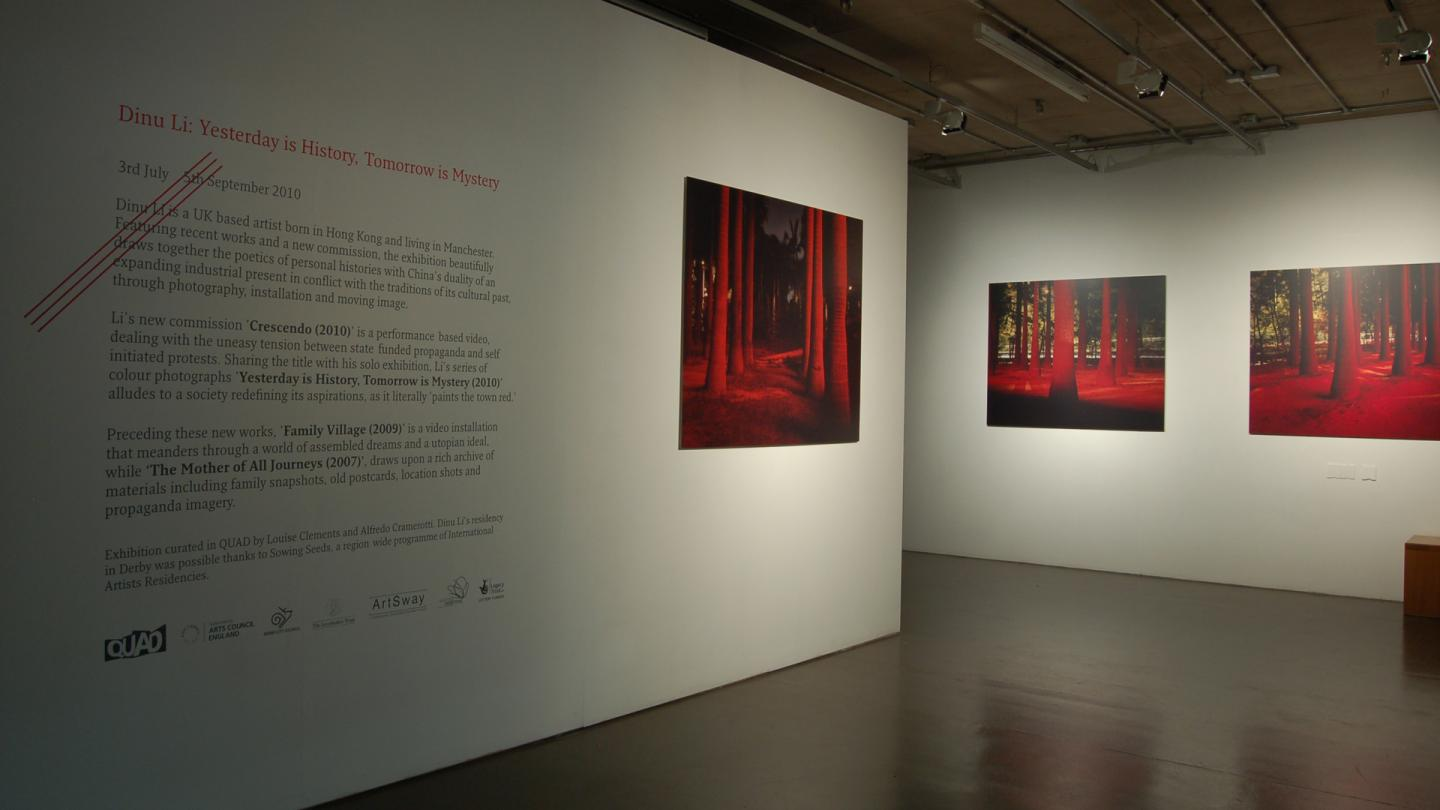 Dinu Li exhibition