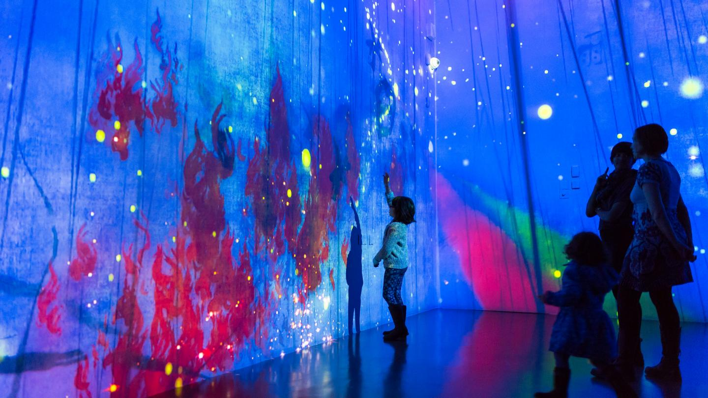 teamLab - What a Loving and Beautiful World