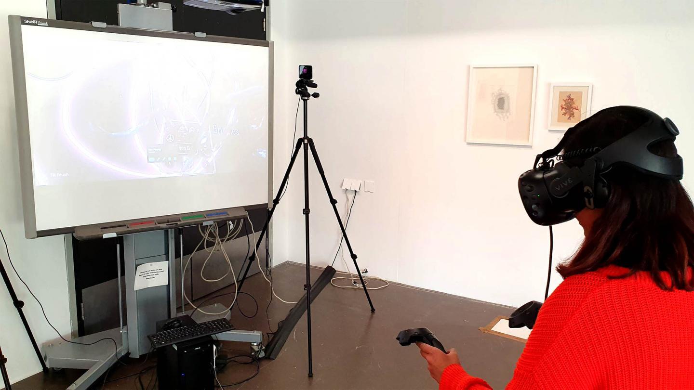 Maktab Paintings with VR Tilt Brush