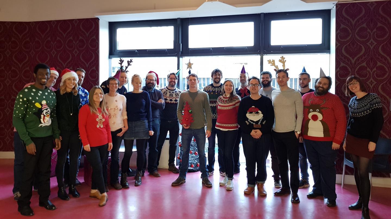 QUAD Staff at Christmas