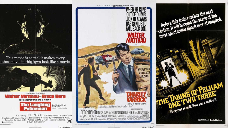 Cine-Lit Podcast Ep. #31: The Crime Films Of Walter Matthau