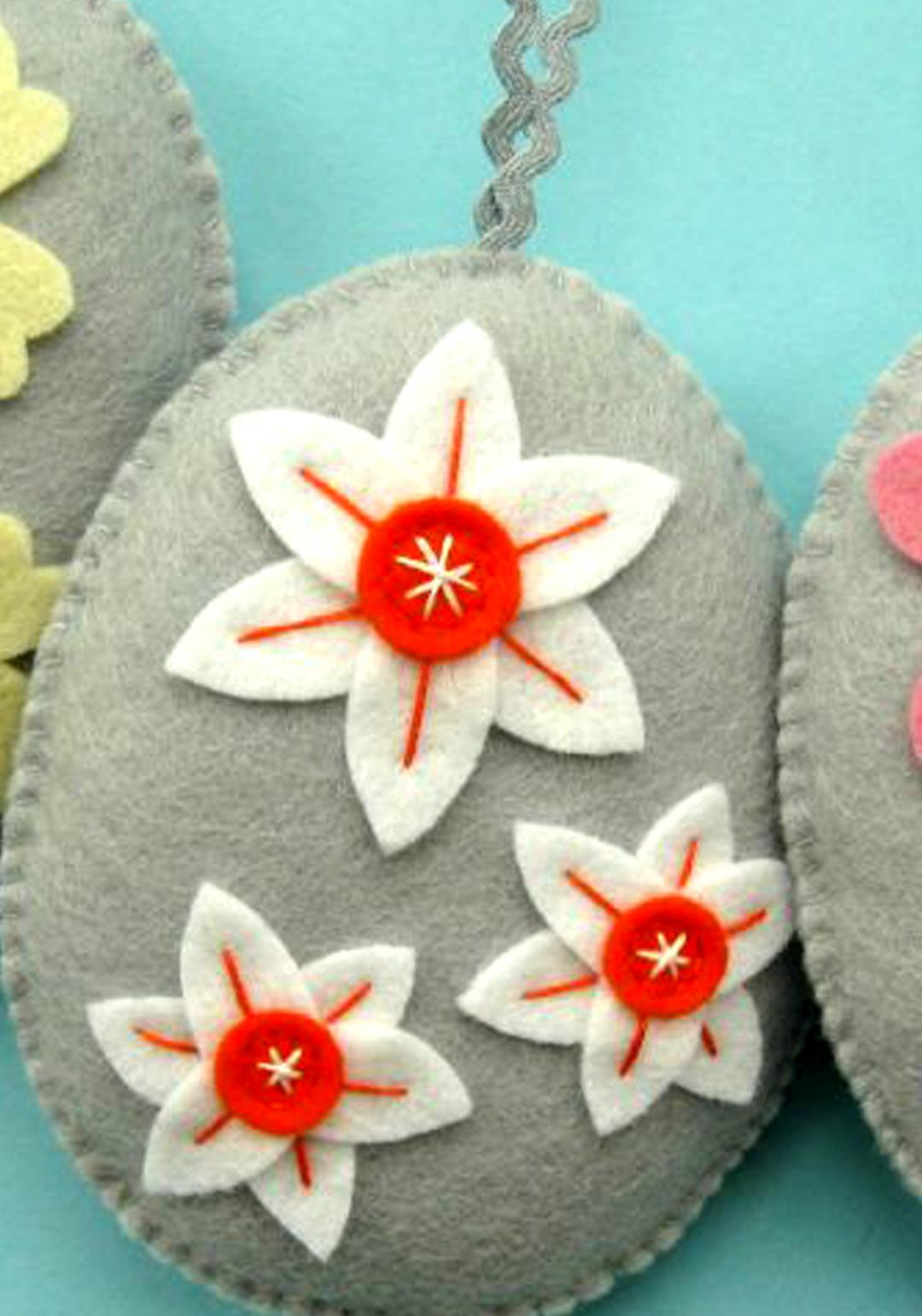 Activity: Make Easter Felt Eggs