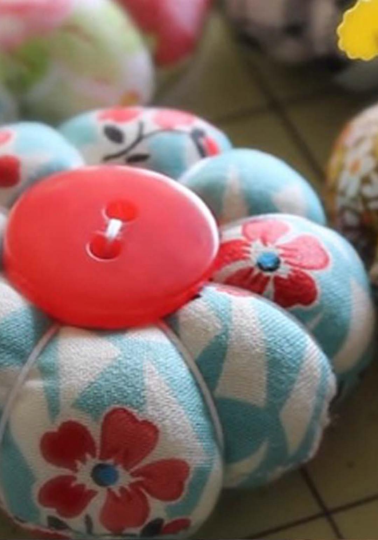 Craft Activity: Petal Pincushion