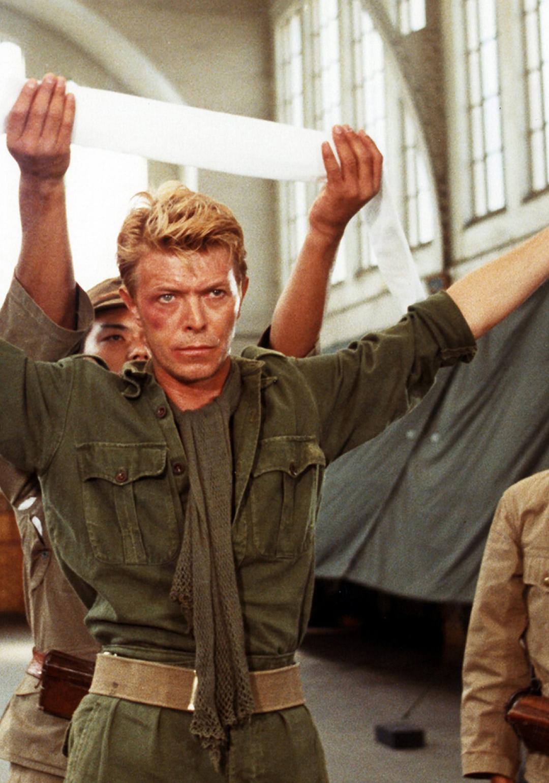 David Bowie in Merry Christmas, Mr. Lawrence.
