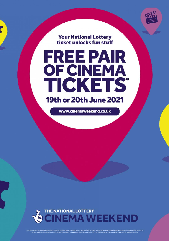 National Lottery Cinema Weekend 2021
