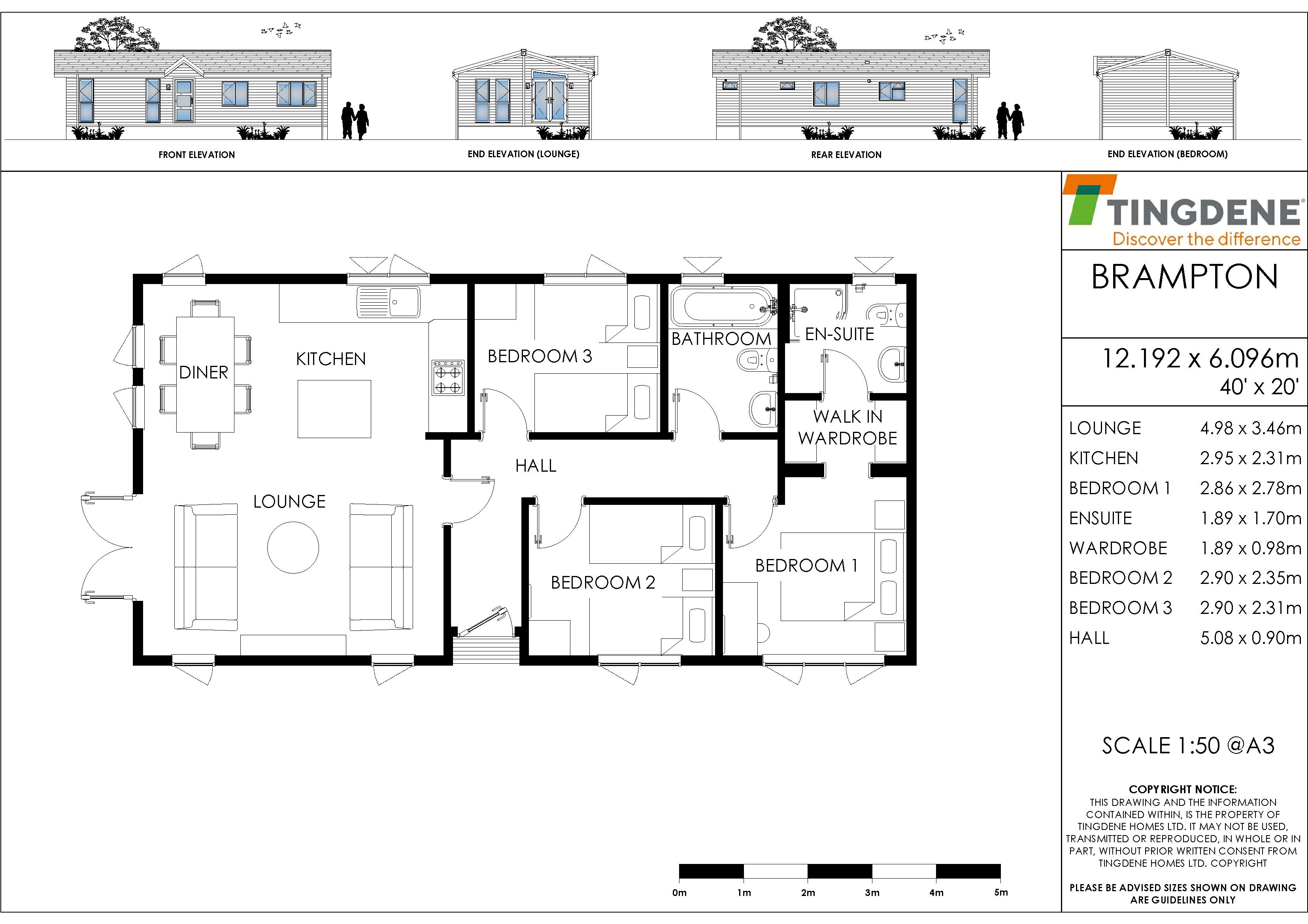 The Brampton floorplan