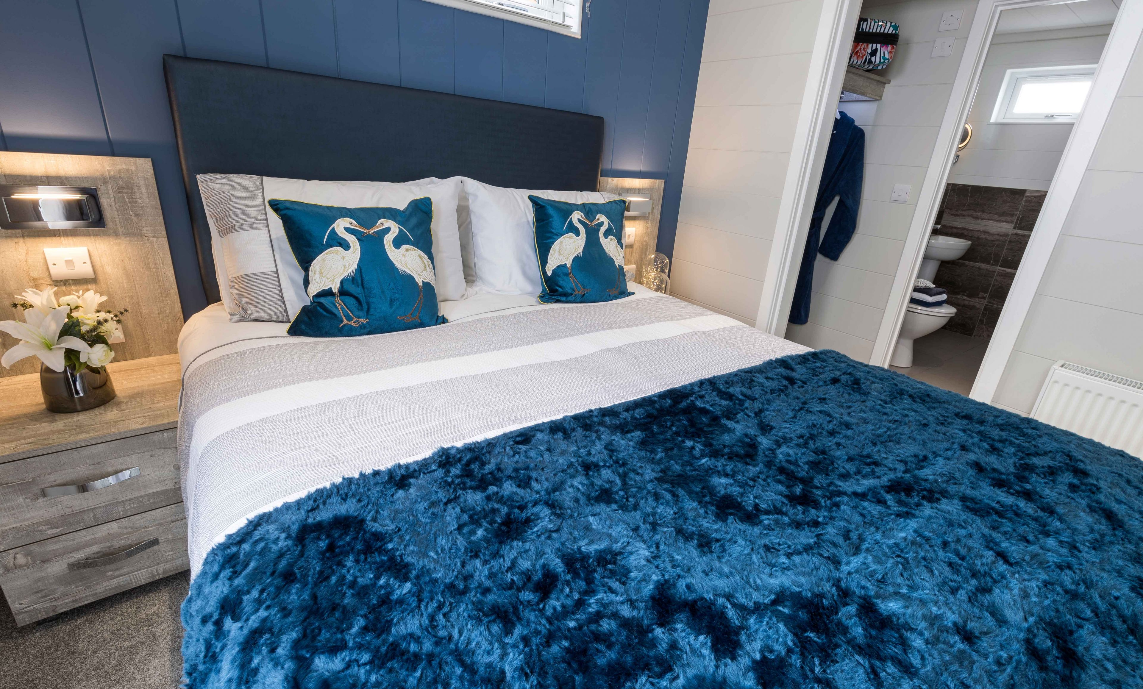 The Country Lodge - Coastal Bedroom
