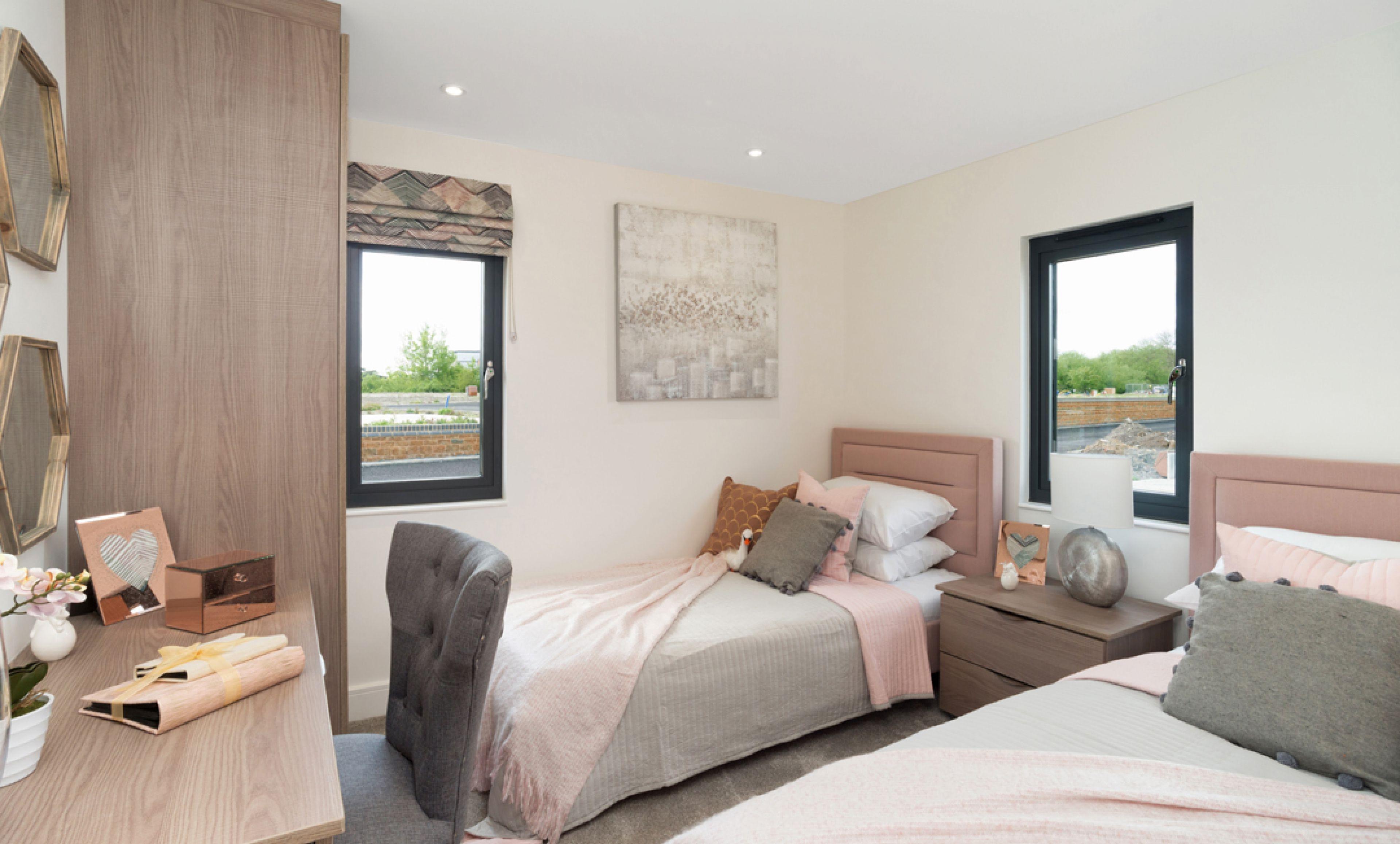 The Rockingham - Twin Bedroom