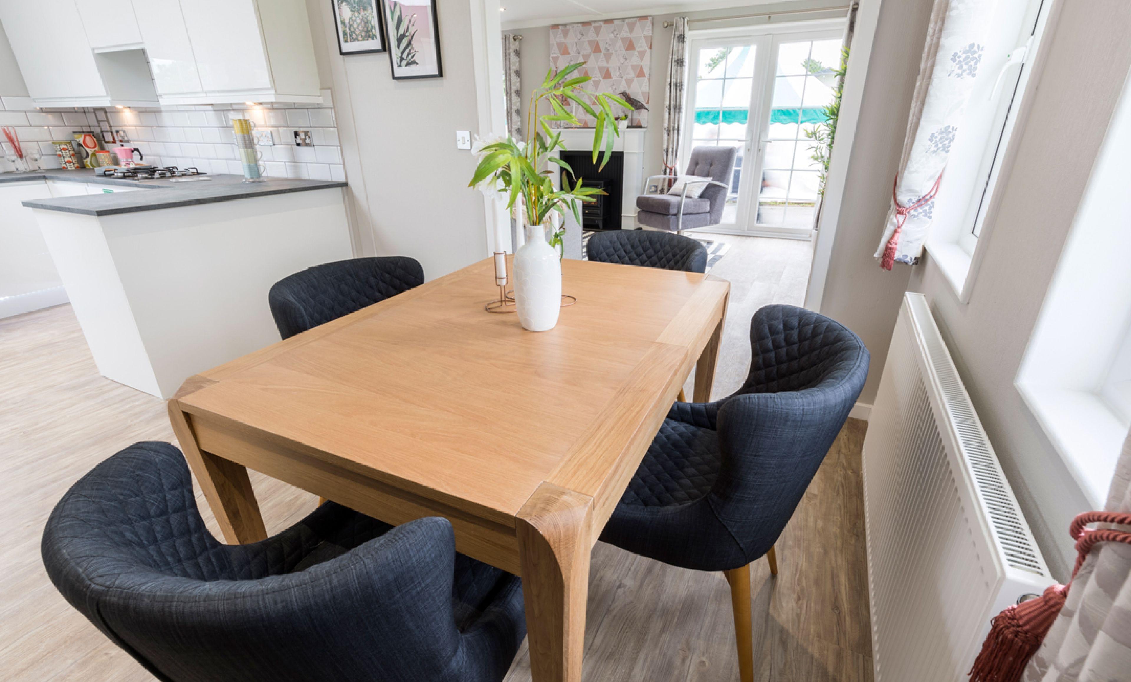The Kensington dining room