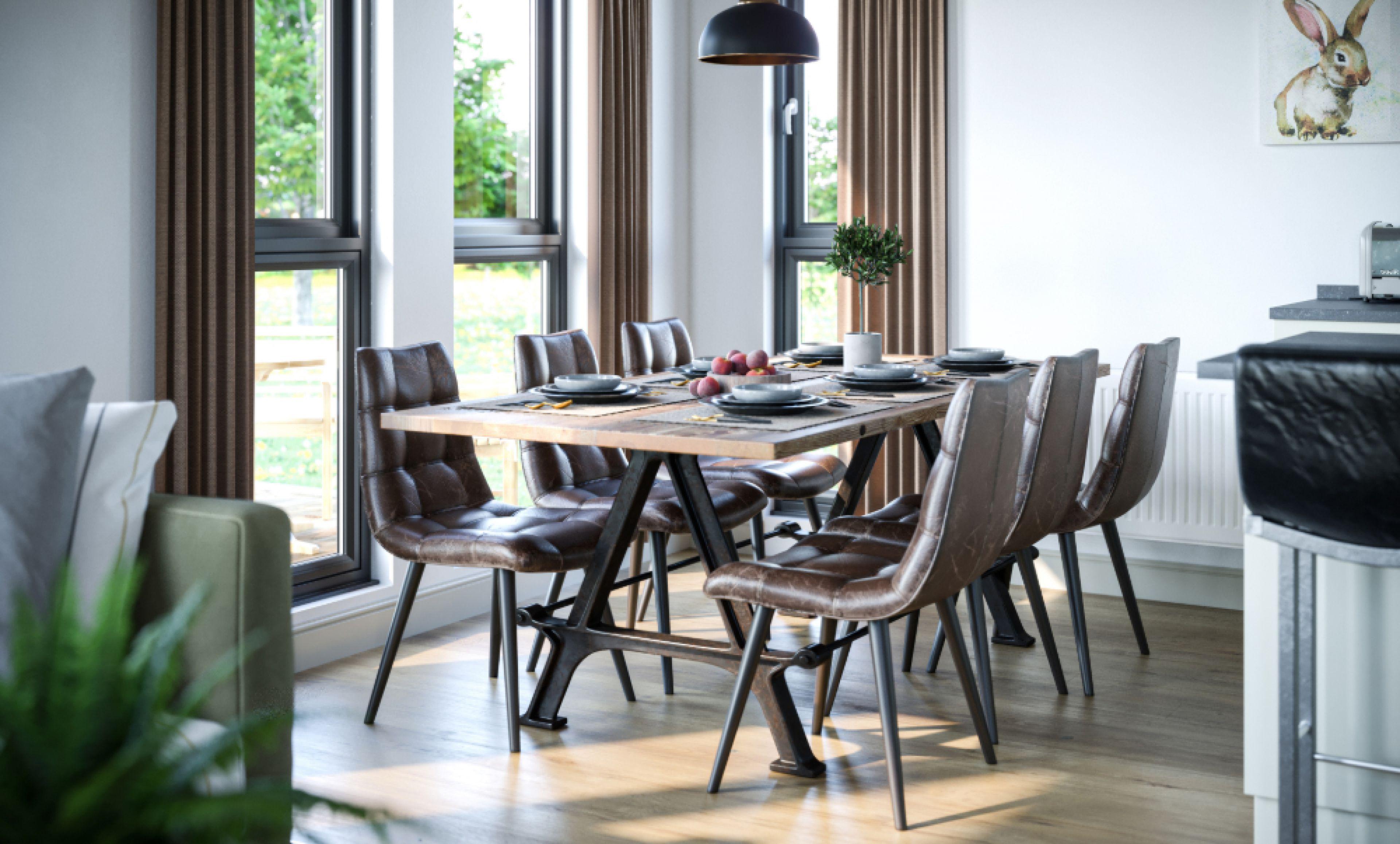 Brampton - The dining room
