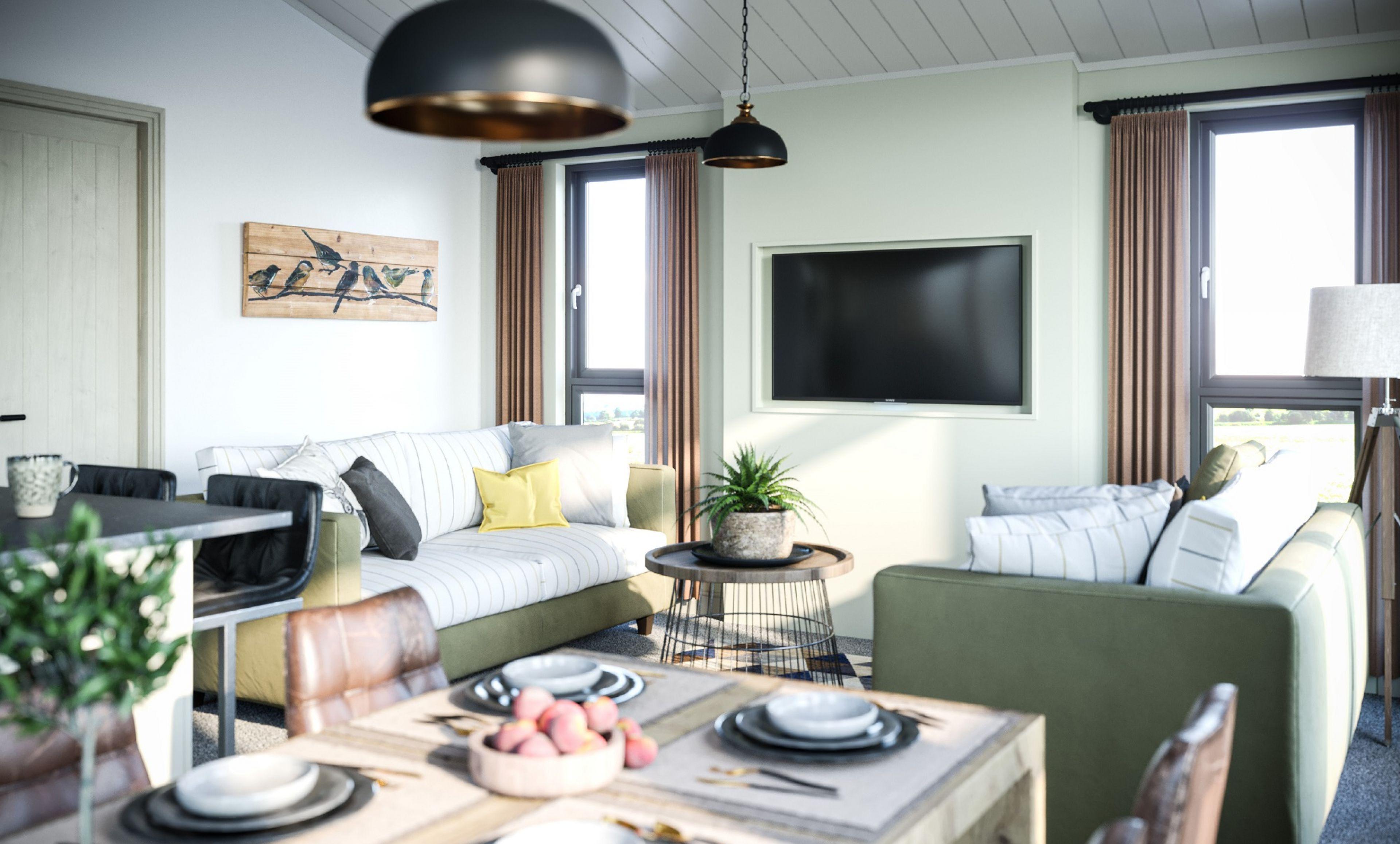 Brampton - The Living Area