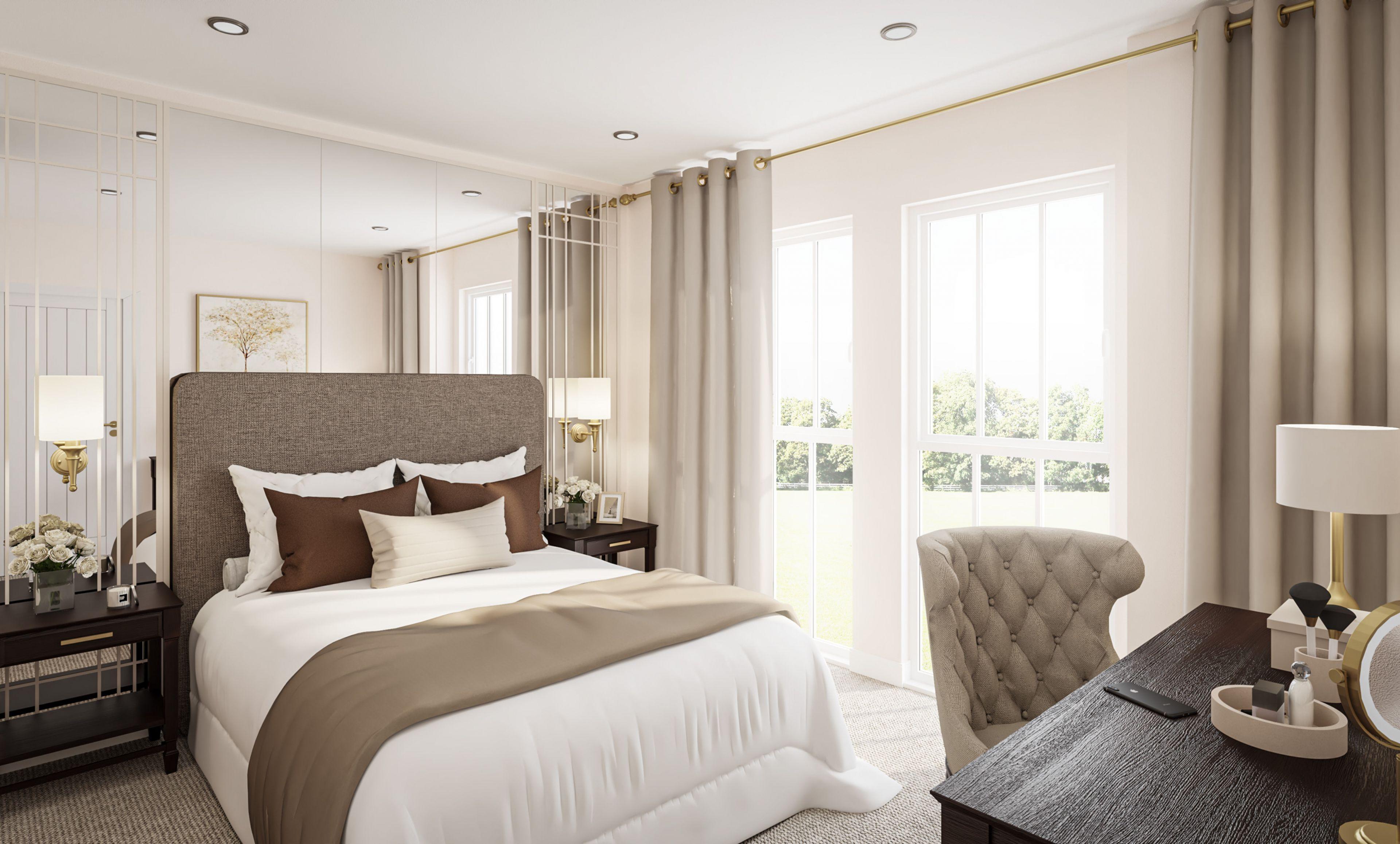 Regency Classic bedroom