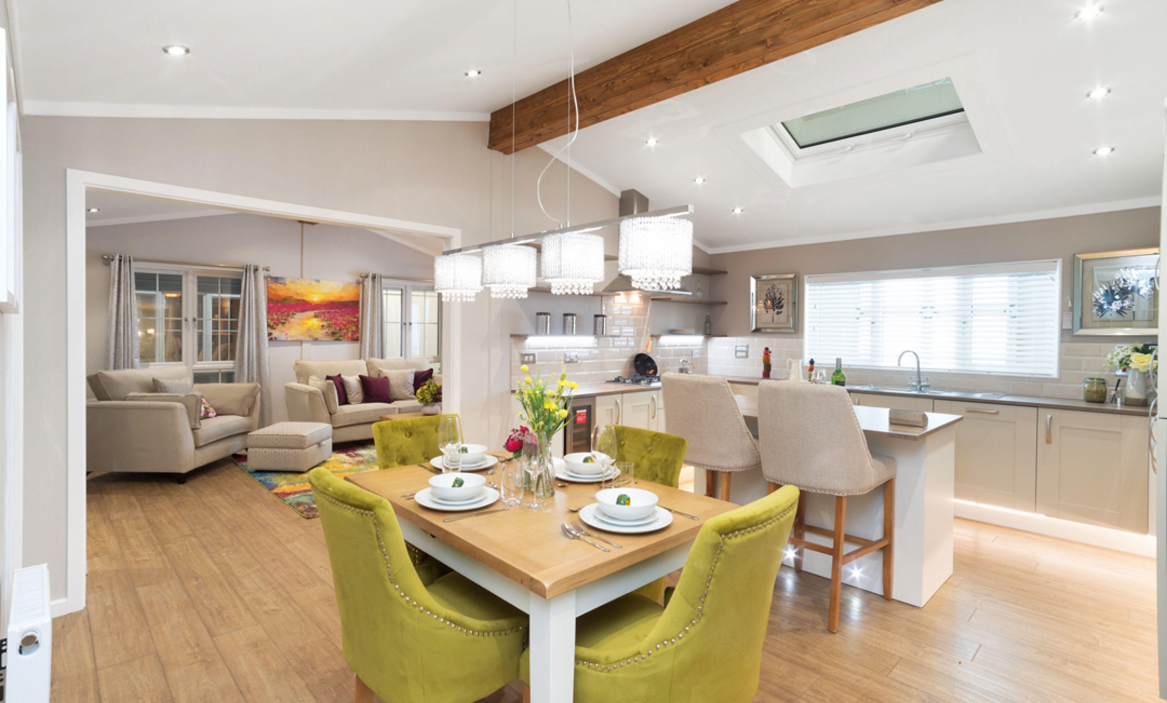 The Addington dining room