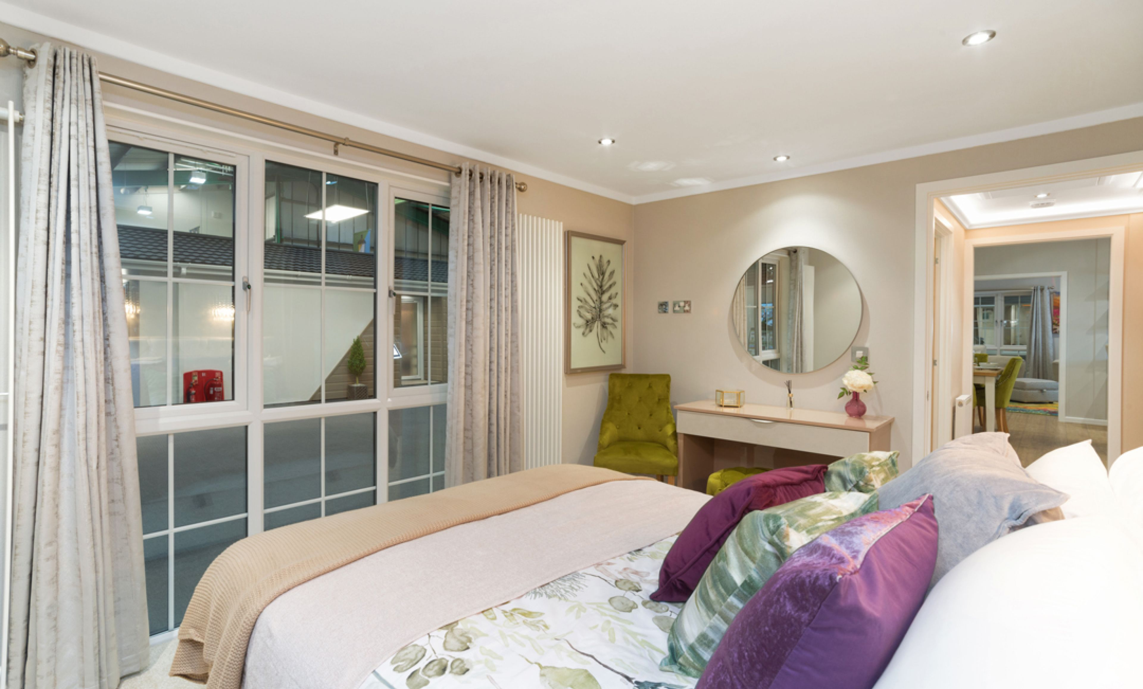 The Addington bedroom