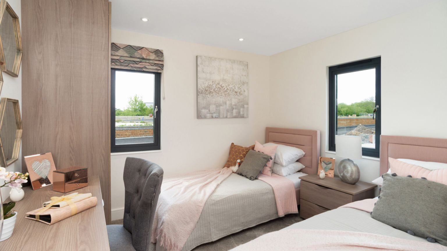 The Rockingham - Twin Bedroom