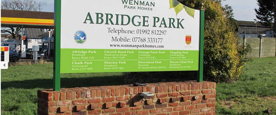 Abridge Park Homes
