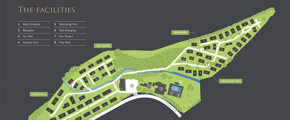 Osmington Holiday Park Map