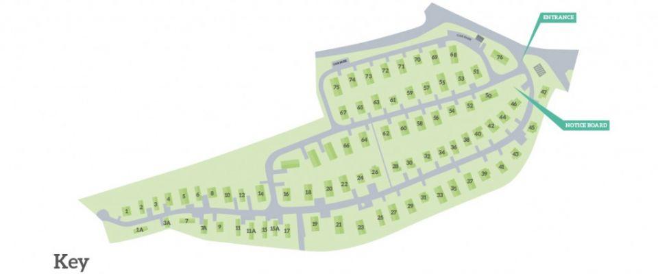 Tregatillian Park Map