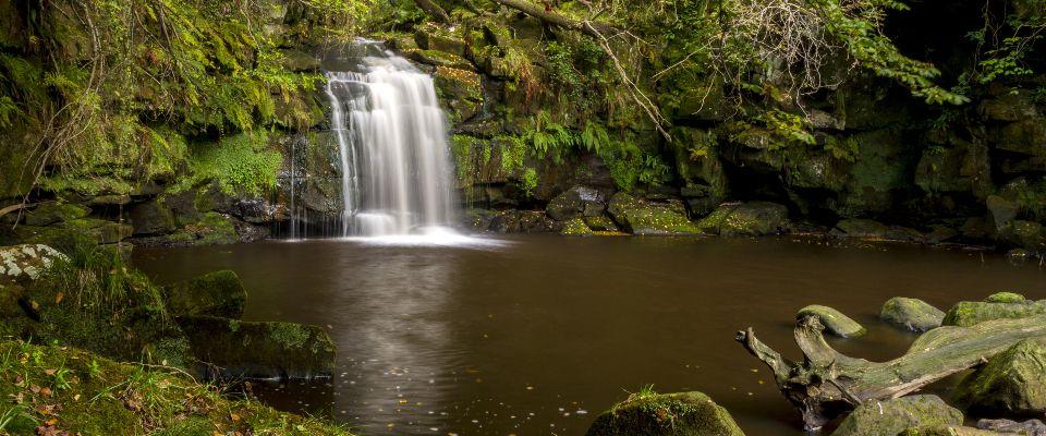 Thomason Foss Waterfall - 22 miles from park