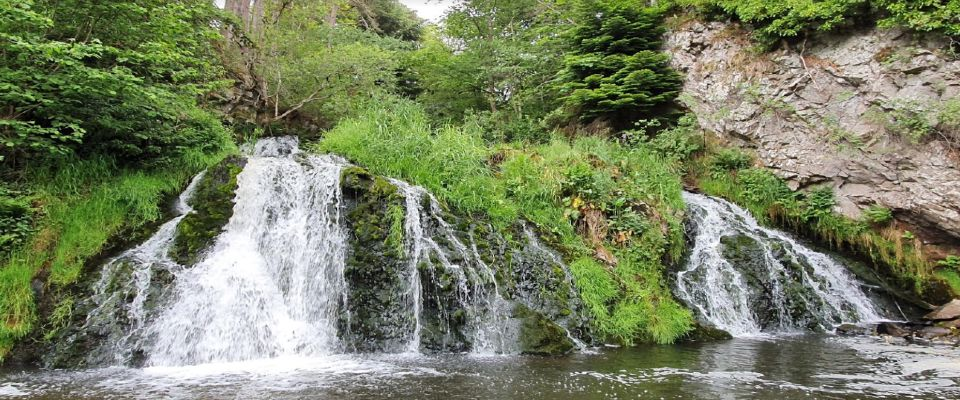 Dess Waterfall - 9 miles from park